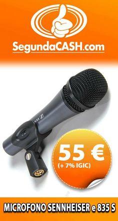 #Venta Microfono Sehnheiser e835S  http://www.segundacash.com