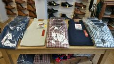 Classic shirts and trousers for gents - new for Autumn 2014 from Luck of Louth.
