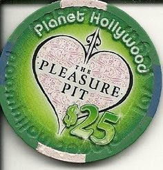 Amazon.com: $25 planet hollywood the pleasure pit obsolete las vegas casino chip: Everything Else