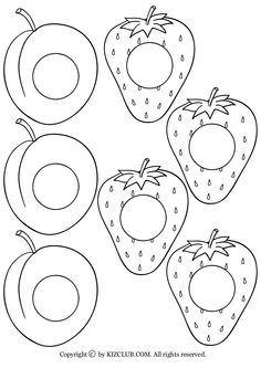 The Very Hungry Caterpillar Coloring Pages Printables - Coloring Home Very Hungry Caterpillar Printables, Hungry Caterpillar Craft, Eric Carle, Book Crafts, Felt Crafts, Chenille Affamée, Coloring Sheets, Coloring Pages, Quiet Book Templates