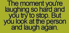 The moment...haha