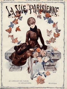 La Vie Parisienne, Samedi 13 Novembre 1915 ~ Chéri Hérouard #LaVieParisienne #Hérouard