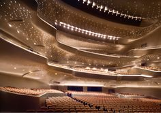 Guangzhou Opera House in China. I really want to experience some of Zaha Hadid's work in person before I die. #architecture