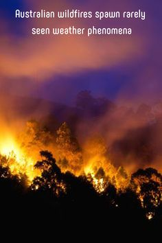 Australian wildfires spawn rarely seen weather phenomena Landscape Photos, Landscape Photography, Central Park Manhattan, Strange Weather, Honeymoon Places, Wild Fire, Cairo Egypt, Spawn, Naturaleza