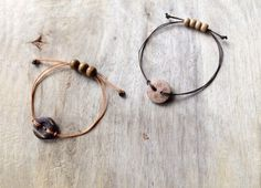 In this tutorial you'll learn how to make a awesome rustic bracelet. It's really funky to wear and really easy to make. So I hope you all like this project and have fun making one.