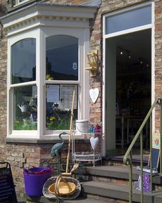 Gone to Pot is in Boroughbridge, Yorkshire a small shop bursting at the seams with ideas for home and garden.
