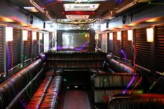 Limo party bus interior party bus pinterest limo - Affordable interior designer orlando fl ...