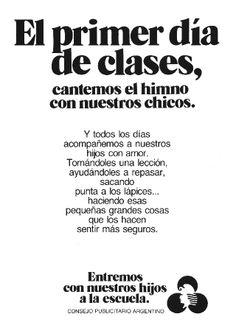 """""""Entremos con nuestros hijos a la escuela 3""""-1984"""