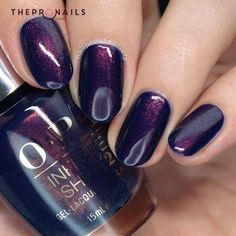 How glossy are they? <3 #glossy #nails #purple #manicure