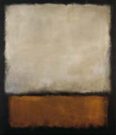 """without monsters and gods, art cannot enact a drama"" Mark Rothko"