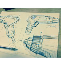 Drill sketch by myself, Thomas Doyle