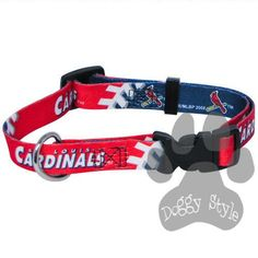 Officially Licensed MLB St. Louis Cardinals Premium Baseball Dog Collar  http://doggystylegifts.com/collections/licensed-mlb-dog-collars/products/officially-licensed-mlb-st-louis-cardinals-premium-baseball-dog-collar