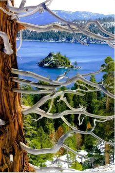 Lake Tahoe, Emerald Bay State Park, California, USA