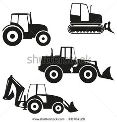stock-vector-tractor-icon-set-isolated-on-white-background-tractor-grader-bulldozer-silhouette-vector-331704128.jpg (450×470)