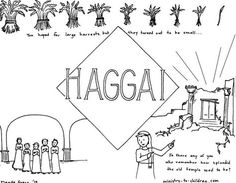 This free coloring page is based on the book of acts it s for Haggai coloring page
