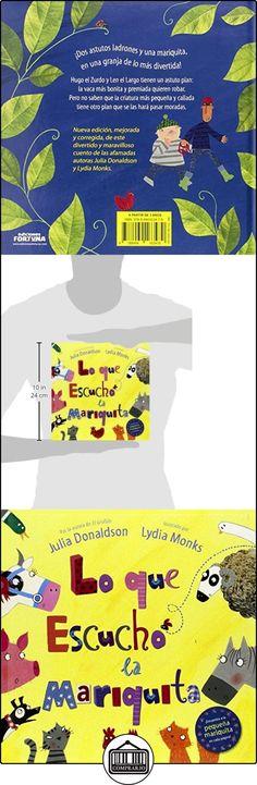 Lo Que Escuchó La Mariquita Julia Donaldson ✿ Libros infantiles y juveniles - (De 3 a 6 años) ✿ ▬► Ver oferta: http://comprar.io/goto/8494163477