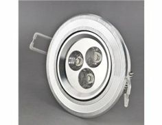 SENKO CX-T-3W004 3*1W 3 LED 270LM 3000-3500K Warm White Light Ceiling Spotlight (Silver) by QLPD. $43.46. Super bright LED ceiling spotlight. High efficiency and low power consumption.