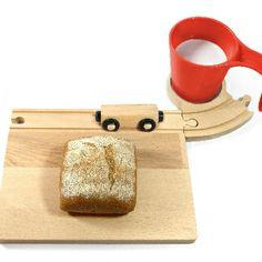 Eisenbahn-Frühstücksset - Neue Freunde