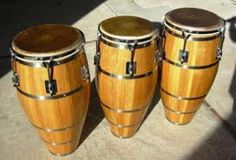 Skin On Skin Conga drums made by Jay Berek in New York