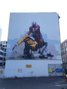 Conor Harrington, Tullinsgade 21, Copenhagen. Street art.