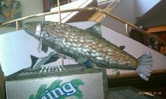 Fish made out of silverware