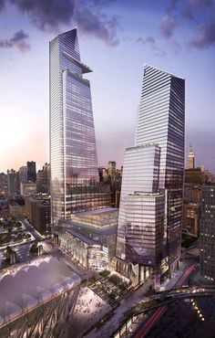 Hudson Yards Towers - Related Co's
