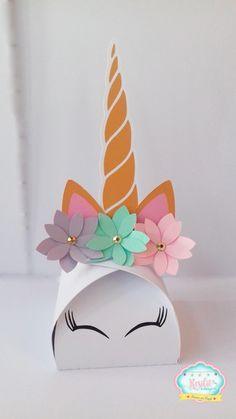 Baby born gift diy ideas Ideas for 2019 Kids Crafts, Diy And Crafts, Paper Crafts, Unicorn Birthday Parties, Birthday Party Decorations, Unicorn Crafts, Diy Party, First Birthdays, Party Time