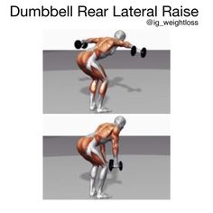 Primary muscle group: Shoulders Equipment: Dumbbells