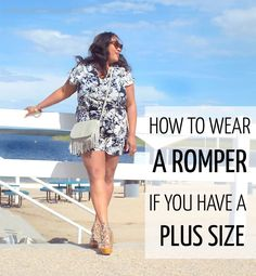 Post image for How to wear a romper if you have a plus size | 40plusstyle.com
