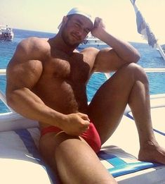 hot huge hunk big beefy muscle daddy pec