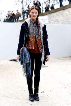Paris Fashion Week Fall 2013 Models Pictures - StyleBistro