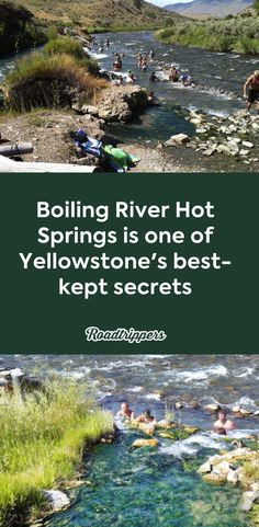 Boiling River Hot Springs is one of Yellowstone's best-kept secrets - Hot Springs Yellowstone Hikes, Yellowstone National Park, Yellowstone Hot Springs, Travel Tours, Travel Usa, Travel Ideas, Best Places To Travel, Places To Visit, Idaho