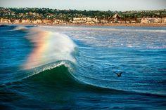 South Mission Beach, San Diego by David Mulvaney