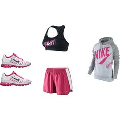 Cute exercise clothing makes me work harder...