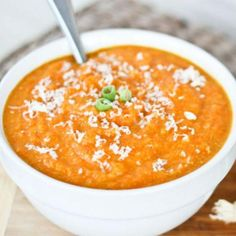 Carrot, Parsnip, and Quinoa Soup
