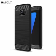 For Samsung Galaxy S7 Case Slim Rugged Armor Shockproof Hybrid Soft Rubber Silicone Phone Cases Cover For Samsung S7 G9300 G930f