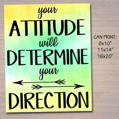 School Counselor Office, Psychologist Office, High School Classroom, Elementary Teacher, Therapist Office, Classroom Posters, Classroom Decor, Character Education, Positive Attitude