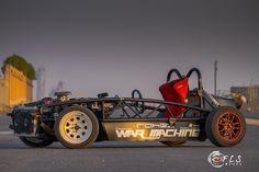 Exomotive - US Manufacturer of Exocars & Kit Cars |   Ford V8 Exocet War Machine