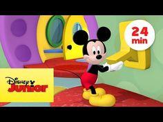 Mickey dança, legal legal que dia legal, em português abertura a casa do mickey,(oficial)11x. - YouTube