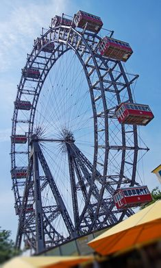 Riesenrad Ferris Wheel, Fair Grounds, Travel, Viajes, Traveling, Tourism, Outdoor Travel