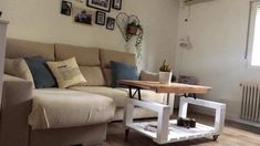 Una mesa y una mesita con palets espectaculares – I Love Palets Couch, Love, Pallets, Creative, Chill, Furniture, Home Decor, Ideas, Dining Room Tables
