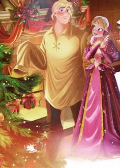 ❅ Arendelle Christmas ❅: Anna's attempt at a homemade present for Kristoff comes as a BIG surprise!