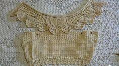 By Mariza Crochet Designer: Cropped Ciganinha mais detalhes para as iniciantes . By Mariza