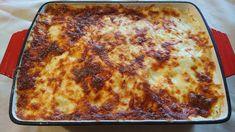 Lagzis krumpli (Gyula krumpli) Recept képpel - Mindmegette.hu - Receptek Lasagna, Food And Drink, Pizza, Lunch, Cheese, Ethnic Recipes, Gastronomia, Apartment Master Bedroom, Living Room