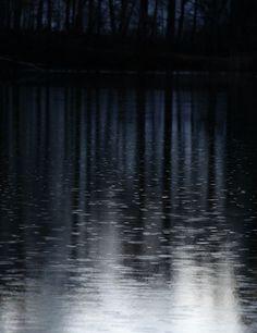 #Dark and #rainy #night. Mystic and beautiful! #rain