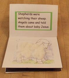 Create this book about baby Jesus with your little ones