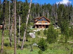 Grand Lake Cabin Rental: Secluded Log Cabin W/lake & Mtn Views/7 Acres/ Hot Tub & By Rmnp | HomeAway