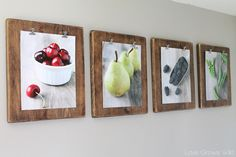 feat diy photo clipboard display for pictures and art prints (Love Grows Wild) Diy Photo, Cadre Photo Diy, Rustic Food Photography, Photography Shop, Photo Frame Design, Diy Rustic Decor, Ideias Diy, Ideas Geniales, Blog Deco