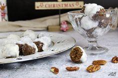 Bomboane vegane cu nucă și cocos - Home is where you cook Fries, Baking, Christmas, Cook, Xmas, Bakken, Navidad, Noel, Backen
