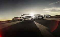 Four different characters with one shared aim — to exceed the driver's expectations. Experience four compact performance cars from Mercedes-AMG, which break every convention and overstep boundaries with ease: http://amg4.me/CompactCars [Fuel consumption combined: 7.4-6.9 l/100 km | CO2 emission combined: 172-162 g/km | http://amg4.me/Efficiency-Statement]